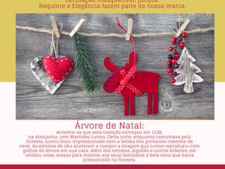 Faça a sua Decoração de Natal conosco