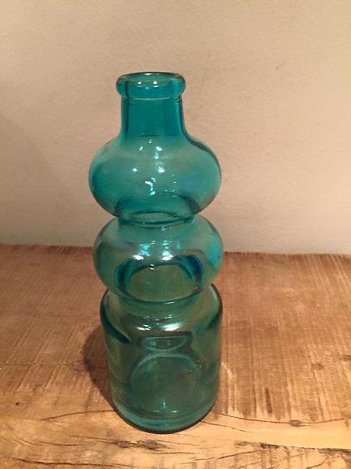 Vaso Retro Azul Tiffany Médio
