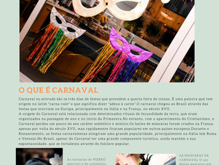 Especial Carnaval