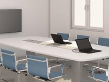 Tárgyaló asztal EasyConnect asztali csat
