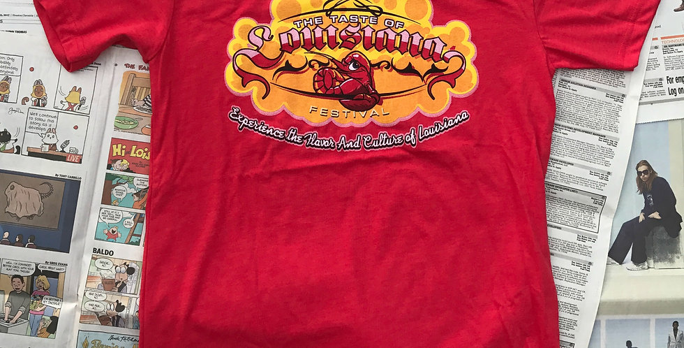 TOL Heathered Crawfish Red Classic Festival Tee