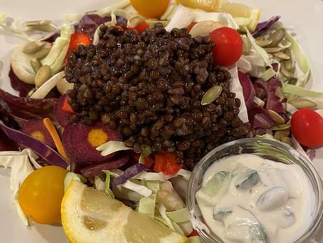 Lentil & Cabbage Salad