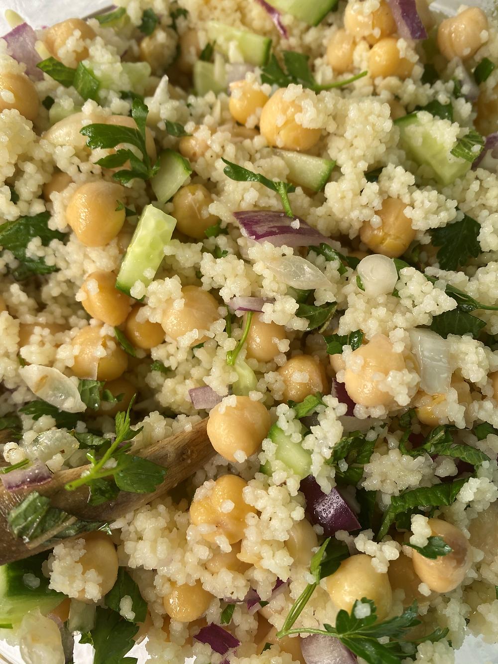 couscous chickpea salad