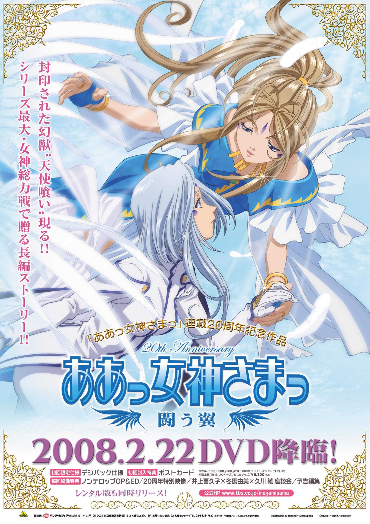 闘う翼DVDポスター