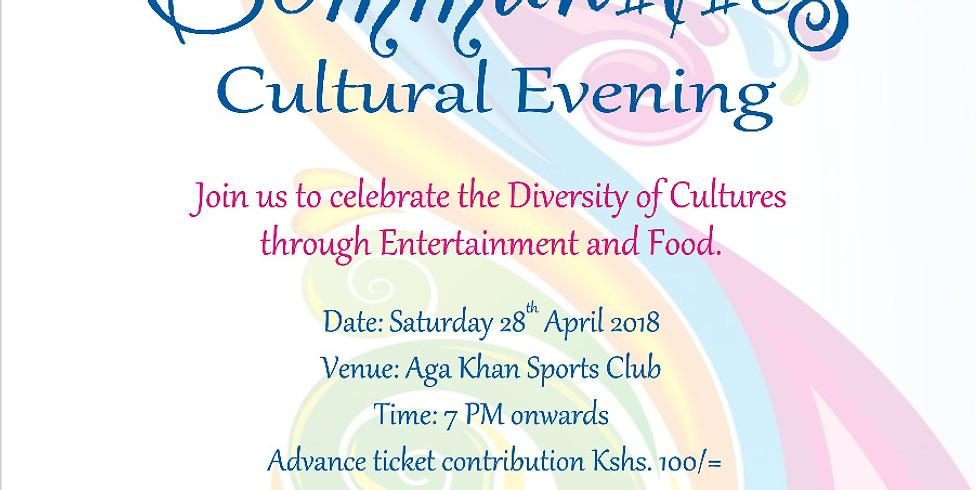 Communities Cultural Evening