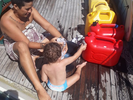 Cloth Diapering Onboard