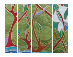 Charisse triptych detail