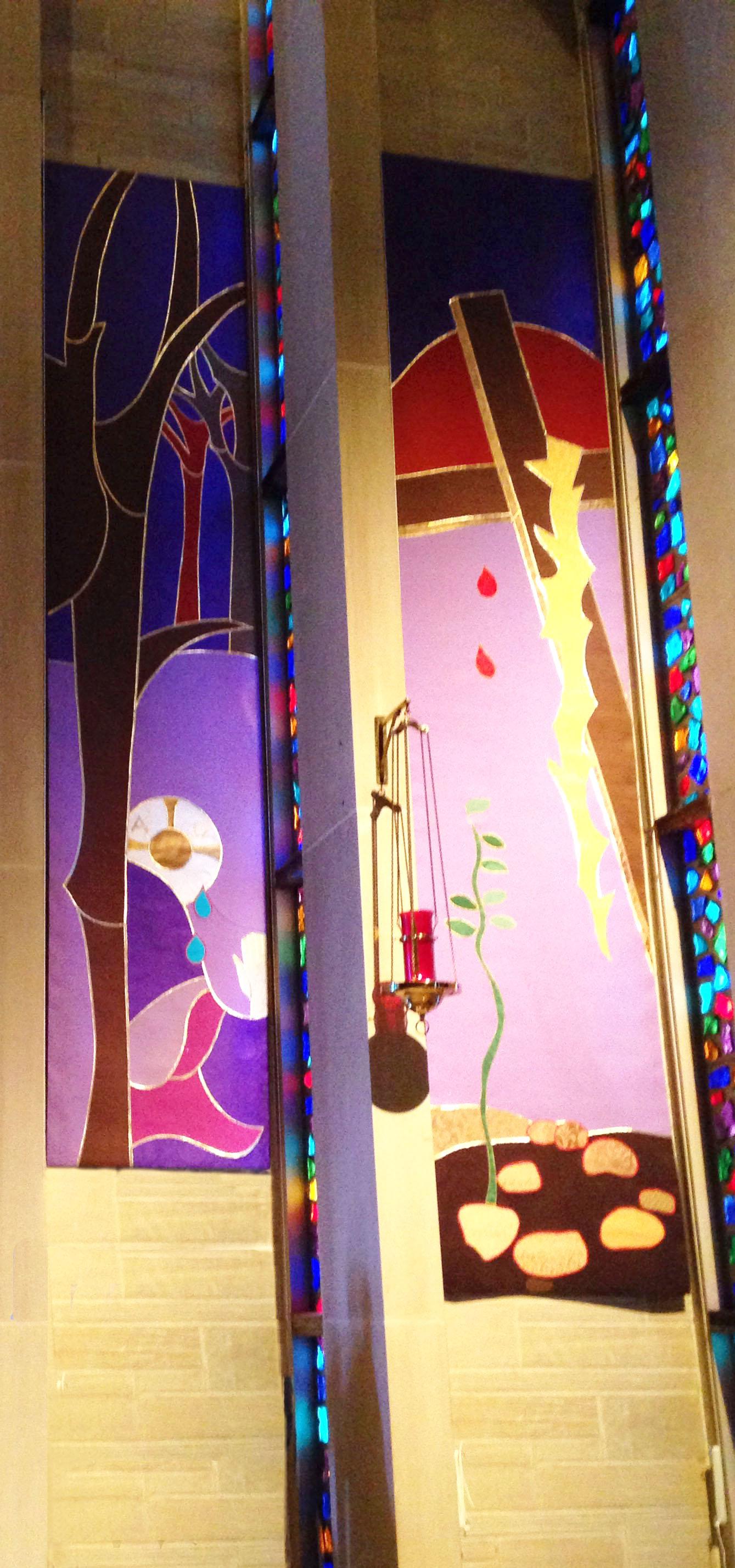 Lenten panels - left