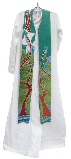 Custom Stole - The Tree of Life