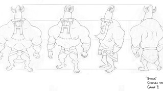 Character Design - Assignment 1: Rotation