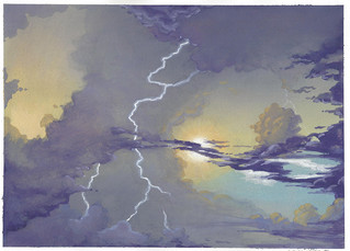 Painting - Assignment 3: Sky and Clouds