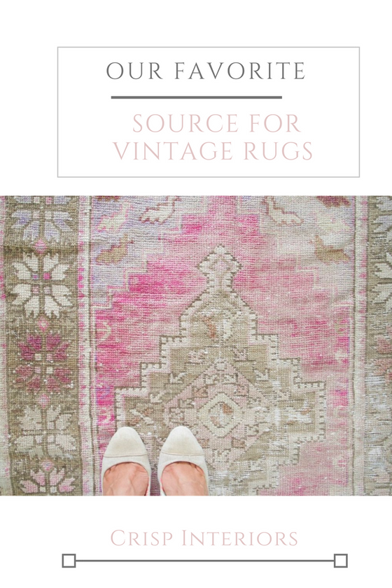 5 Reasons To Decorate with Vintage Rugs