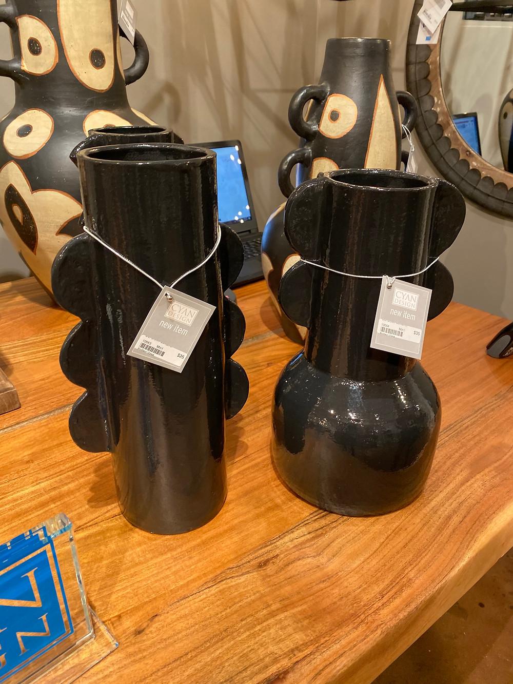 cyan design vase