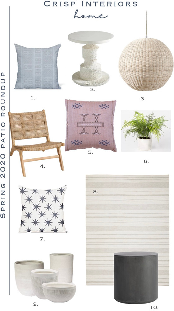 Spring Patio Roundup