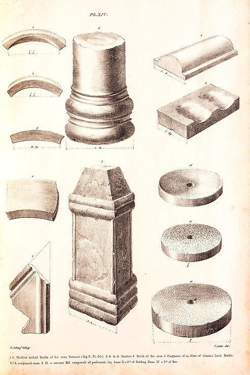 Bricks from Roman oven - Artis - NVAT