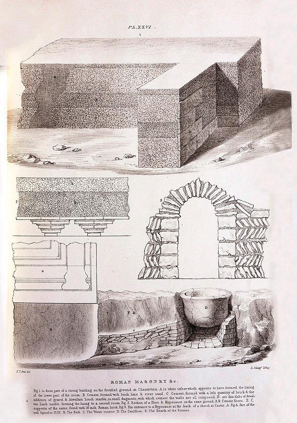 Roman Building at Durobrivae - Artis Excavation - NVAT