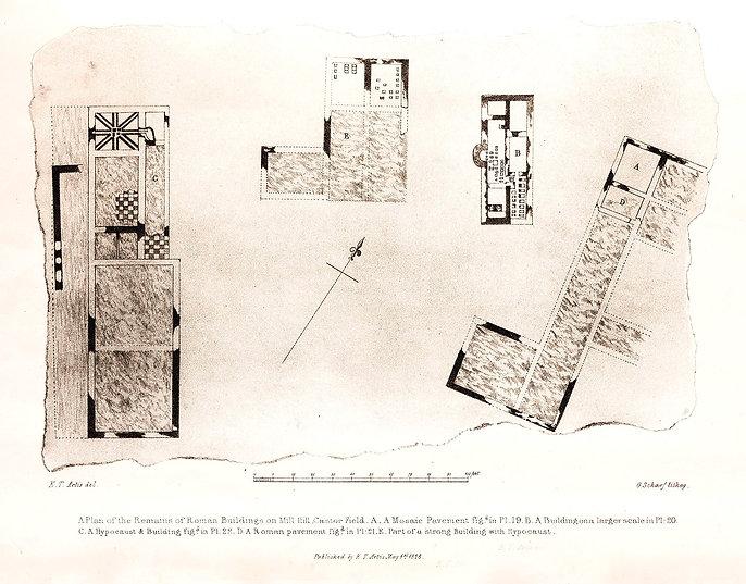 Roman Buildings - Mill Hill - Castor - Artis - NVAT