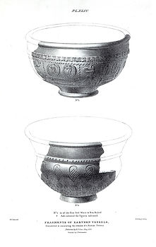 P44. Fragments of earthenware vessels.jp