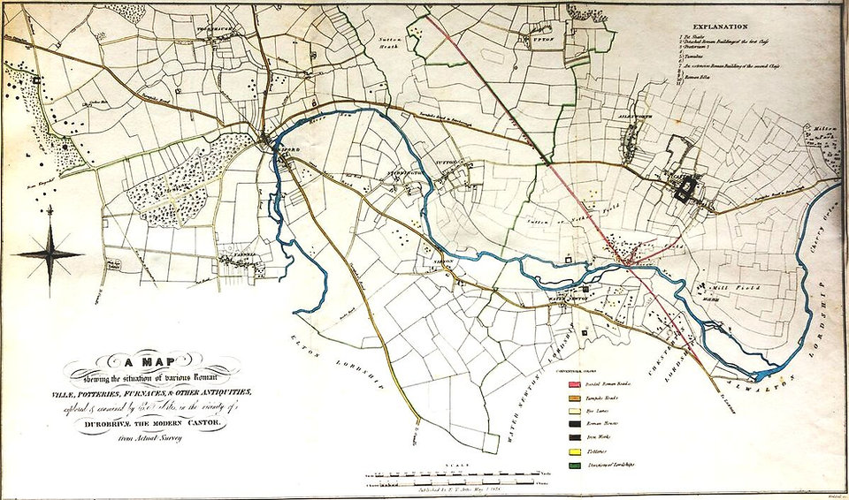 Roman Castor Map - Artis - NVAT