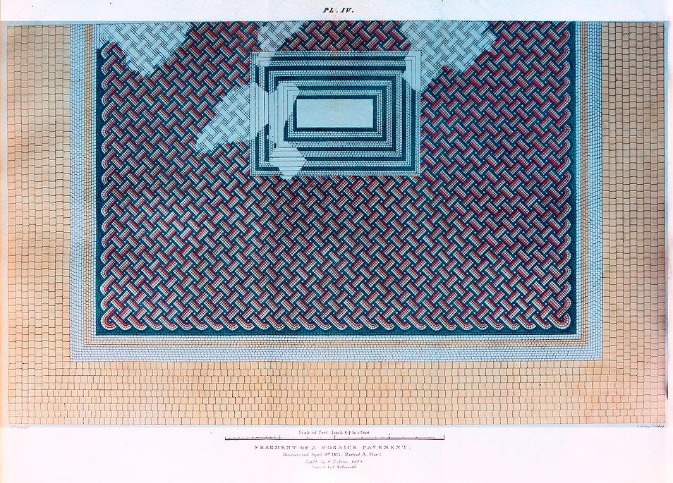 Roman Mosaic Pavement - Artis - NVAT
