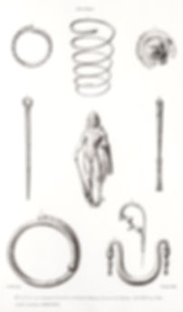 P31.Nos. 1,2, 7 and 8 Antiquities from F