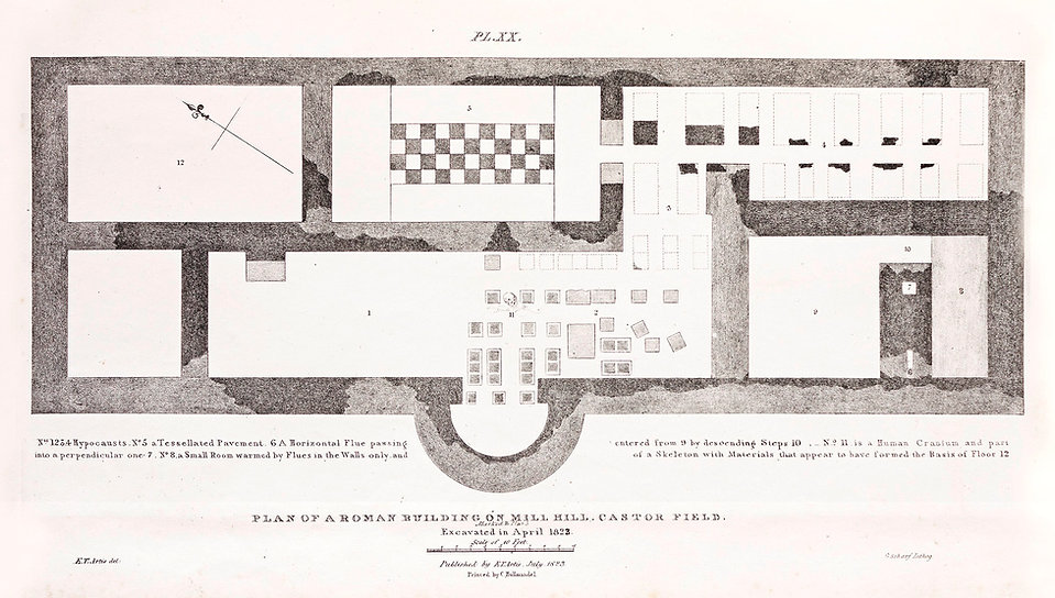 Roman Building - Mill Hill - Castor Field - Artis - NVAT