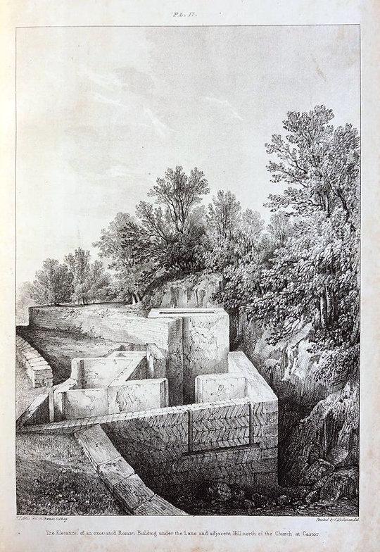 Roman Building in Castor - Artis - Nene Valley Archaeological Trust