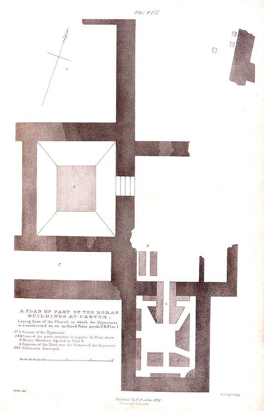 Roman Castor Building Plan Artis NVAT