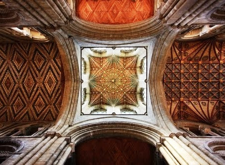 Peterborough Cathedral Nave Ceiling Conservation Project