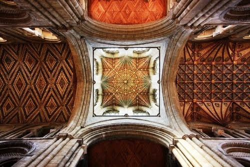 Peterborough Cathedral Nave Ceiling Conservation