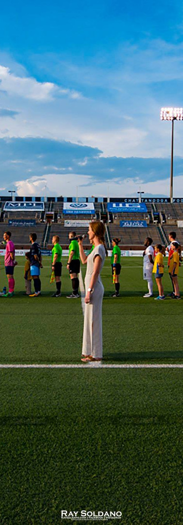 National Anthem, Chattanooga Football Club, 2018