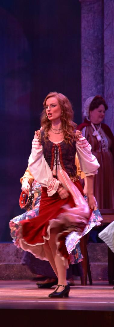 Frasquita in Carmen, Chattanooga Symphony & Opera, 2019