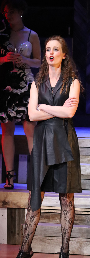 Katherine in Elwood's The Taming, University of Northern Colorado, 2019