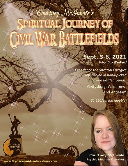 -- Main Event Poster - Gettysburg Spirit
