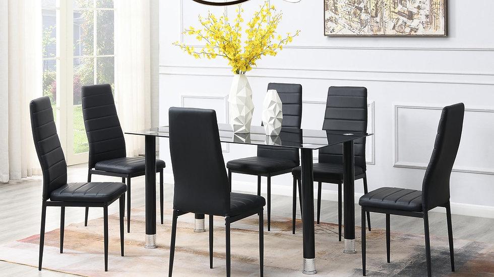iDealD635 - 5 Piece Dining Room Set