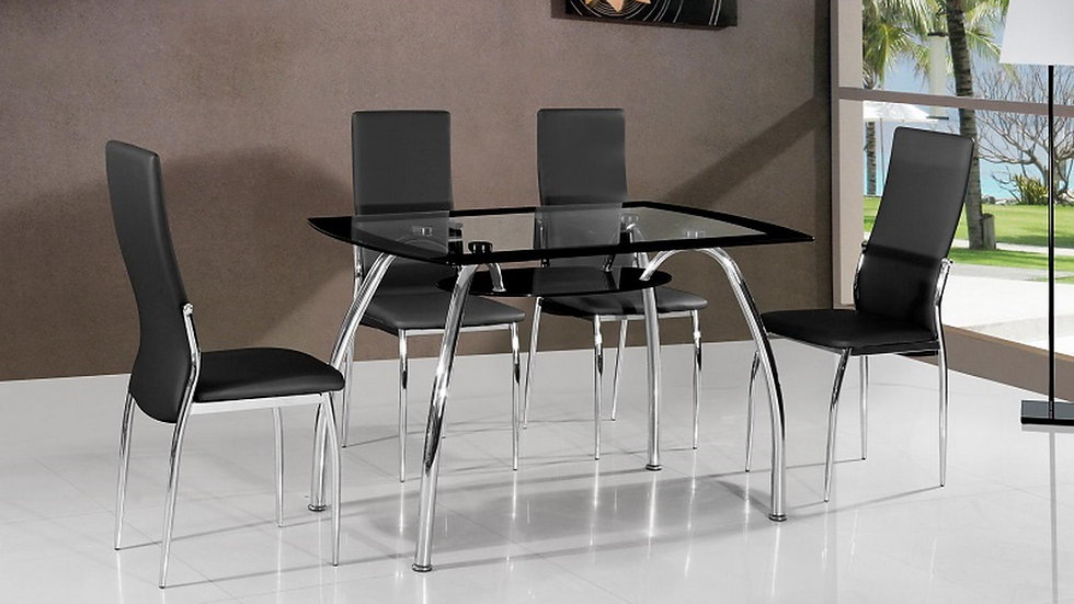 iDealD330 - 5 Piece Dining Room Set
