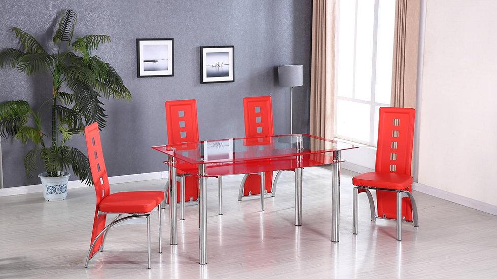 iDealD331 - 5 Piece Dining Room Set