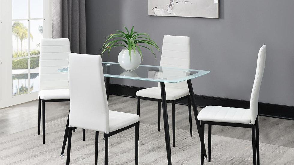 iDealD342 - 5 Piece Dining Room Set