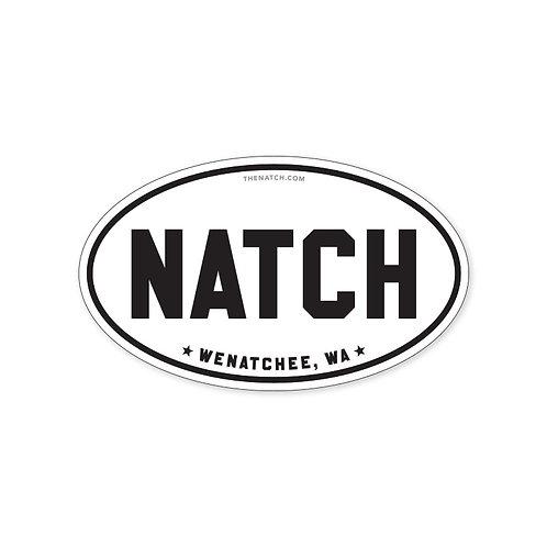 Natch Bumper / Window Sticker