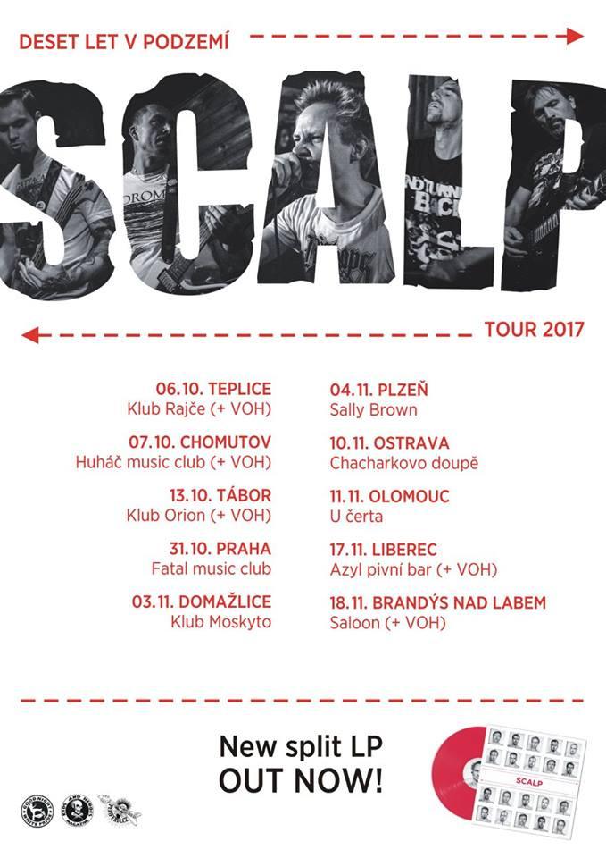 Plakát k turné kapely
