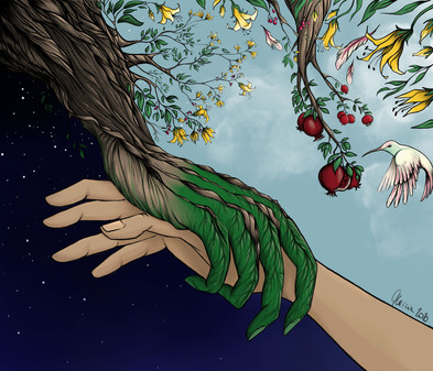 Nature's helping hand