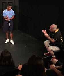 Scotty Watson Coaching Improv Actors To Do Their Best Work