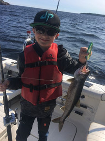 Hottest lake trout spoon this year!