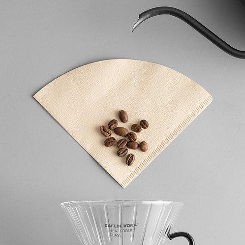 Cafede Kona - Brown Filter Paper 100pcs