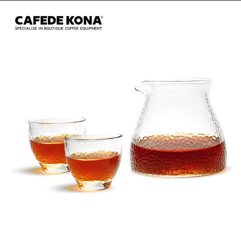 Coffee Glass / Pot Set