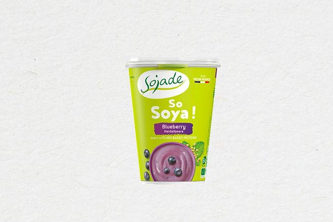 Altenative Yogourt Bleuet | Blueberry Soya Yogurt Alternative 400g