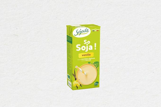 Boisson au Soja Vanille   Vanilla Soya beverage