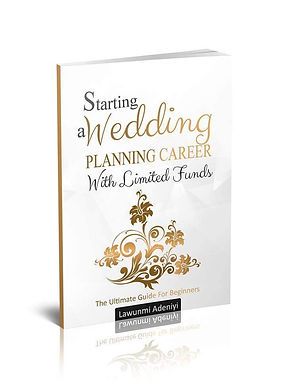 Starting a wedding planning career with limited funds