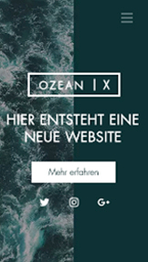 Landingpage website templates – Website - In Kürze verfügbar