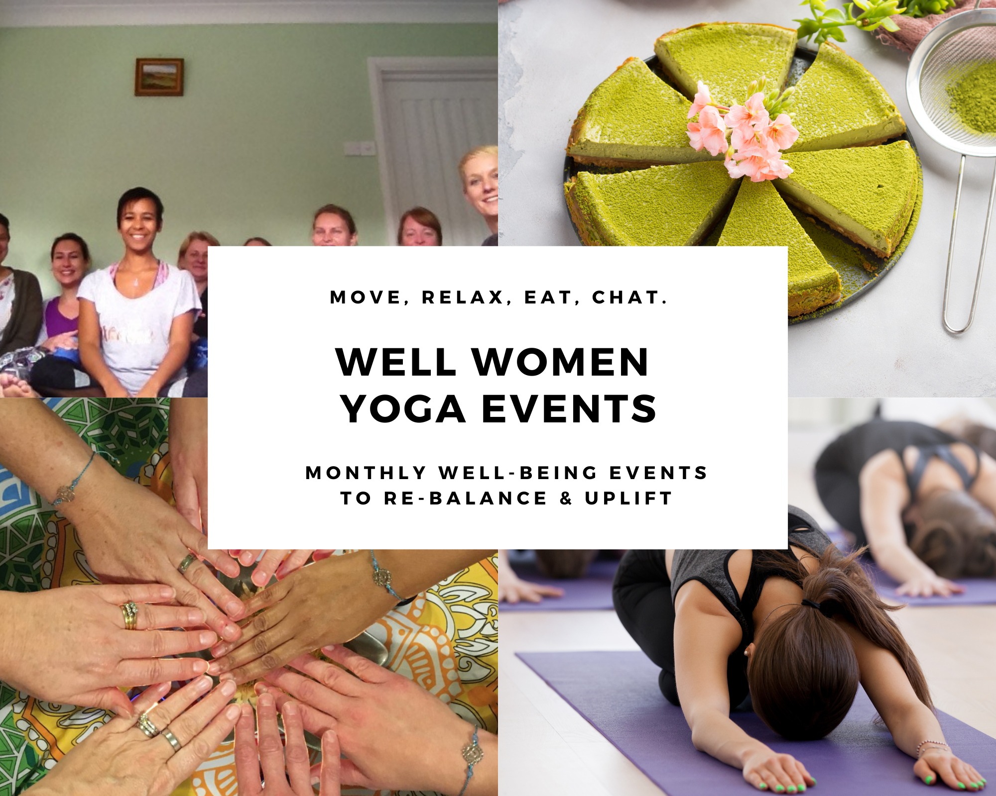 Well Women Yoga Monthly Events